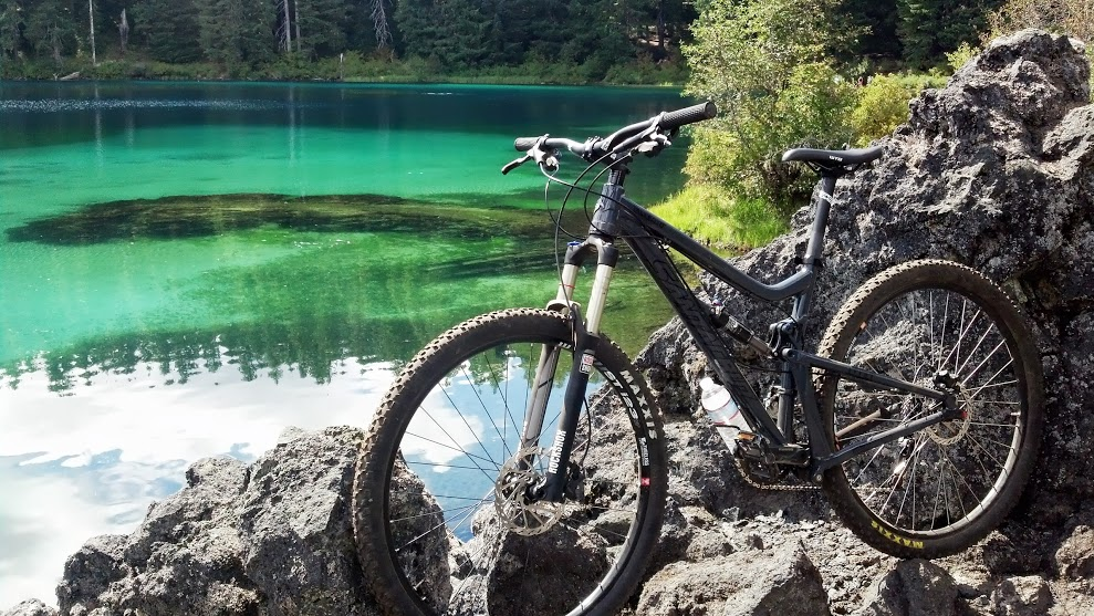 McKenzie River Trail - hike and mountain bike shuttle
